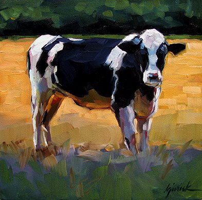 """Beefy"" original fine art by Karin Jurick"