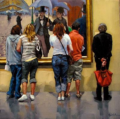 """Walk Through"" original fine art by Karin Jurick"