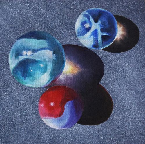 'YOUR TURN original fine art by Gerald Schwartz