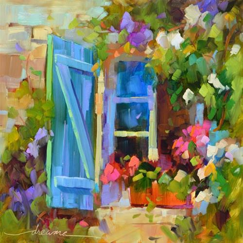 """Open to Possibilities"" original fine art by Dreama Tolle Perry"