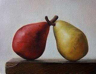 """""""The Duel"""" original fine art by Jonathan Aller"""