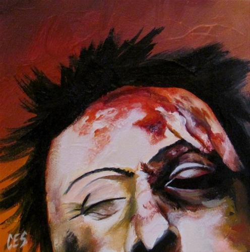 """You Should See The Other Guy"" original fine art by ~ces~ Christine E. S. Code"