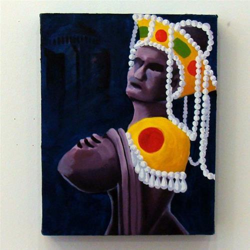 """Empress Theodora Study"" original fine art by Bonnie Fillenwarth"