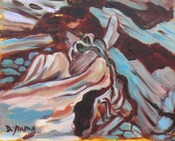 """Drift Wood"" original fine art by Darlene Young"