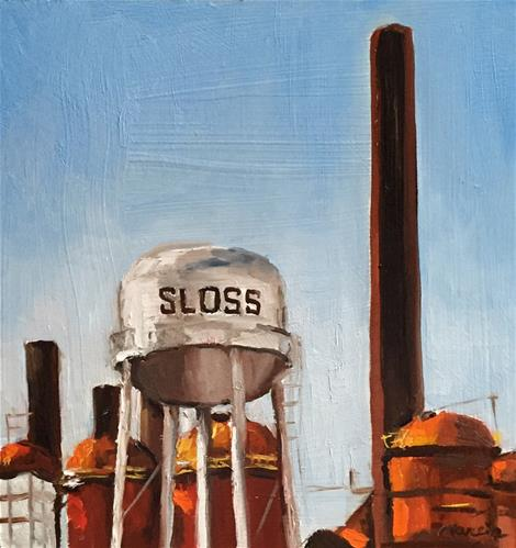 """Wedding Bells at Sloss Furnace"" original fine art by Marcia Hodges"