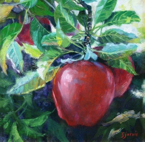 """Decidedly Delicious"" original fine art by Susan N Jarvis"