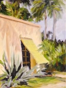 """""""Bonnet House"""" original fine art by Debra Kennedy"""