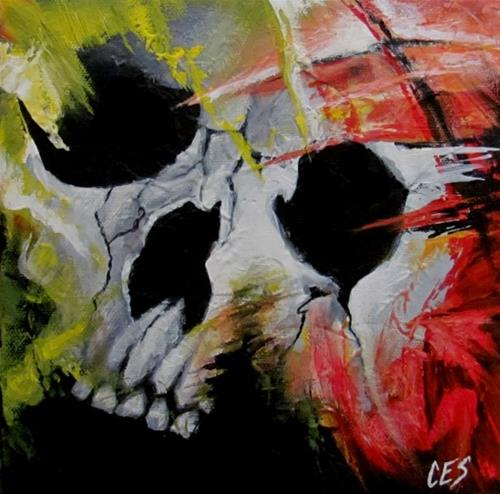 """Hollow"" original fine art by ~ces~ Christine E. S. Code"