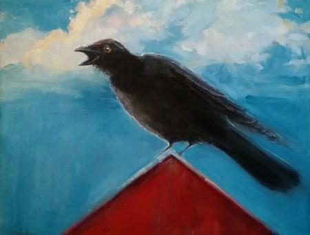 """My Friend, commissioned painting"" original fine art by Jessie Rasche"