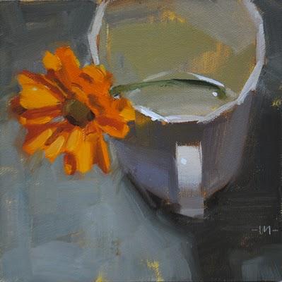 """Loneliness"" original fine art by Carol Marine"