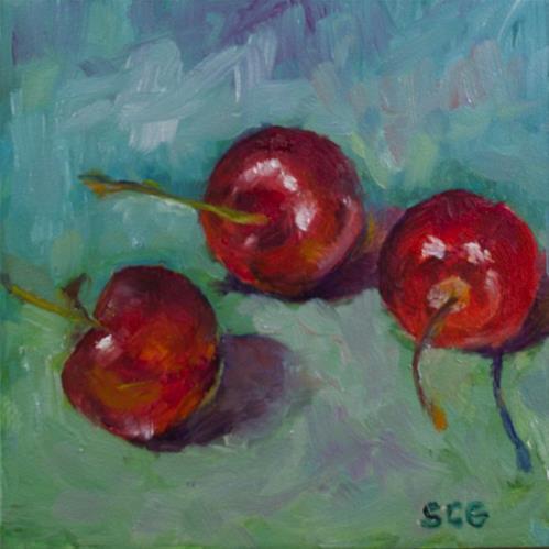 """C is for"" original fine art by Sue Churchgrant"