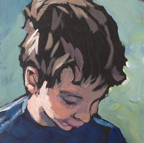 """Concentration"" original fine art by Kat Corrigan"
