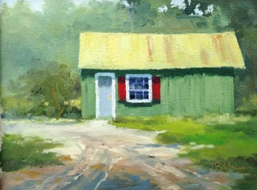 """Green Acres"" original fine art by Tina Bohlman"