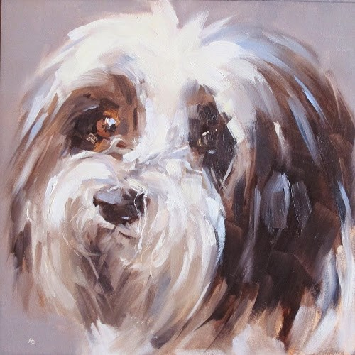 """BRUNO #1"" original fine art by Helen Cooper"