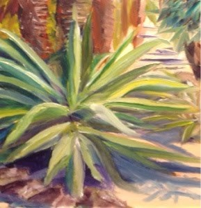 """Florida 4"" original fine art by Debra Kennedy"