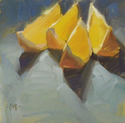"""""""Step Forward"""" original fine art by Carol Marine"""