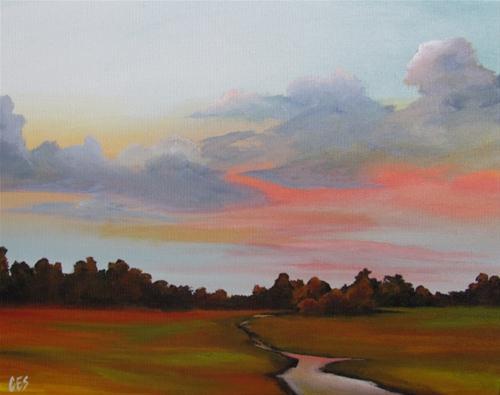 """""""Imitation Creek"""" original fine art by ~ces~ Christine E. S. Code"""