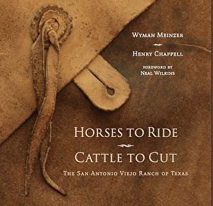 """Horses to Ride, Cattle to Cut:  The San Antonio Viejo Ranch"" original fine art by Neva Rossi"