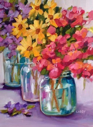 """Mother's Day Special"" original fine art by Libby Anderson"