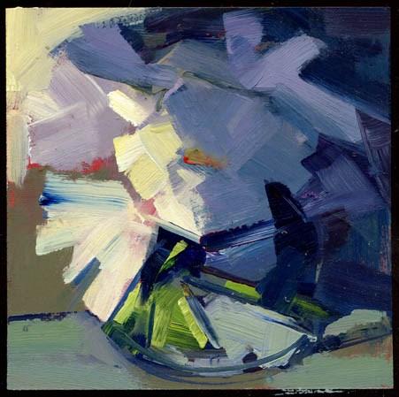 """2265 Midsummer"" original fine art by Lisa Daria"