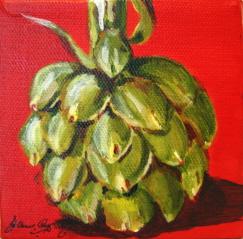 """Artsy Choke"" original fine art by JoAnne Perez Robinson"