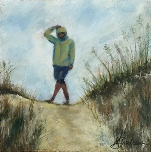 """""""Josh"""" original fine art by Melissa Gresham"""