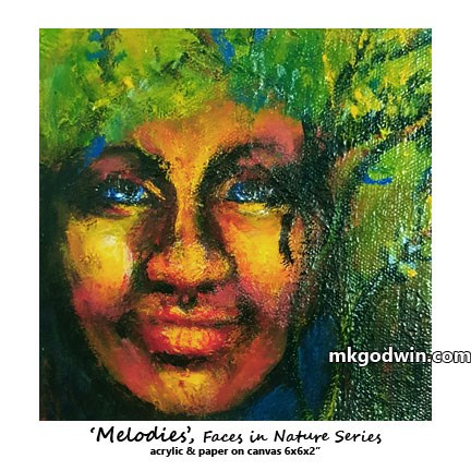 """Melodies"" original fine art by Marie K Godwin"