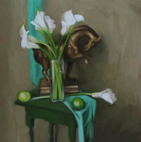"""""""Mull it Over Monday:  My Top 5 Tips for Daily Painting Bloggers"""" original fine art by Diane Hoeptner"""