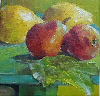 """Stilllife in Öl"" original fine art by Sabine Hüning"