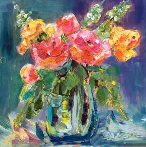 """Simple Joy"" original fine art by Lisa Fu"