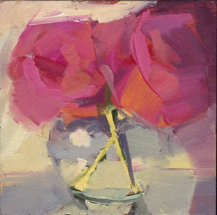 """1527 Ever-bloom"" original fine art by Lisa Daria"