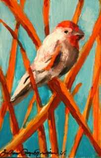 """Fine-Feathered Friends"" original fine art by JoAnne Perez Robinson"