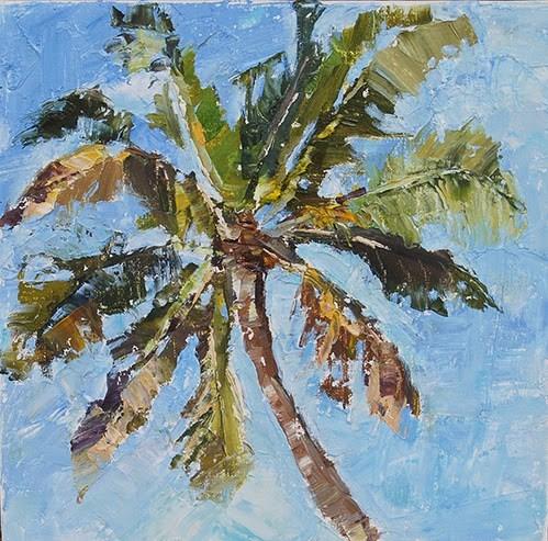 """""""Summer Breeze"""" original fine art by Carol DeMumbrum"""