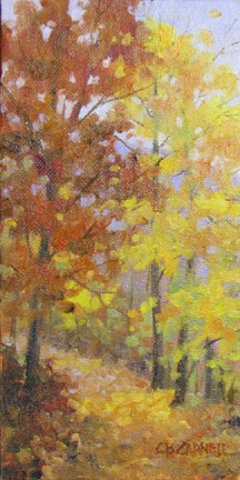 """AUTUMN SOFTNESS An Original Oil Painting by Claire Beadon Carnell"" original fine art by Claire Beadon Carnell"
