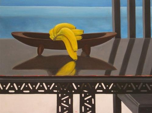 """7 Bananas"" original fine art by Pera Schillings"