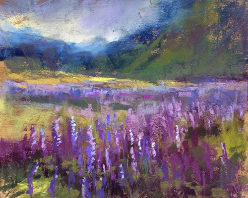 """Painting Iceland Trip Report Day 4"" original fine art by Karen Margulis"