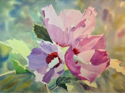 """#5/30 in 30 - Althea"" original fine art by Lyn Gill"
