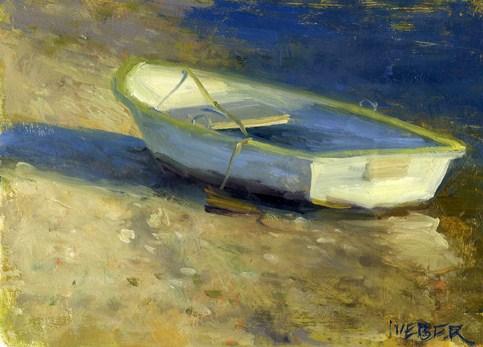 """Beached"" original fine art by Kathy Weber"