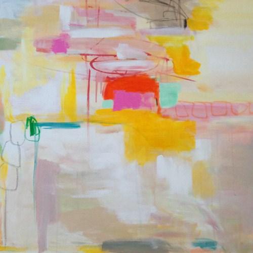 """""""Mostly Sunny"""" original fine art by Pamela Munger"""