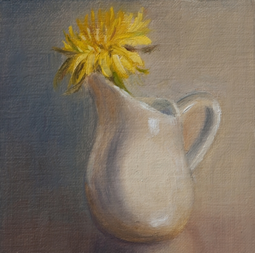 """Sunny Disposition"" original fine art by Debbie Lamey-Macdonald"