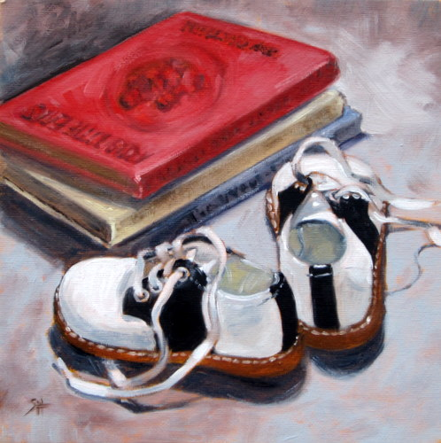 """little feet"" original fine art by Sandy Haynes"