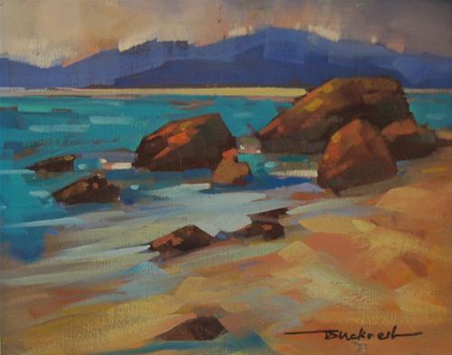 """Seal Bay View"" original fine art by Brian Buckrell"