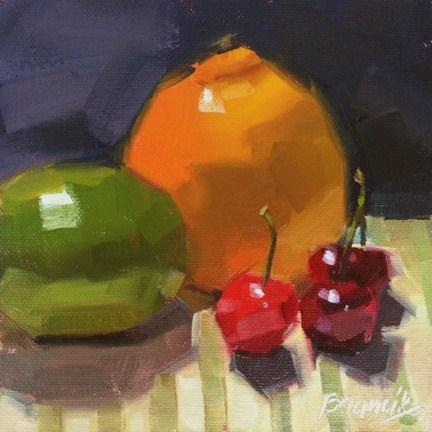 """""""Vitamin C"""" original fine art by Candace Brancik"""