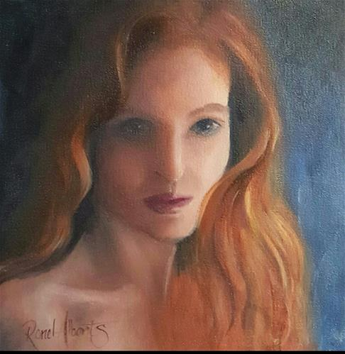 """GINGER MARY"" original fine art by Ronel Alberts"
