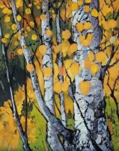 """""""Colorado Landscape Oil Painting Aspen Forest by Colorado Landscape Artist Susan Fowler"""" original fine art by Susan Fowler"""