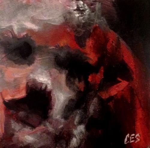 """""""Six"""" original fine art by ~ces~ Christine E. S. Code"""