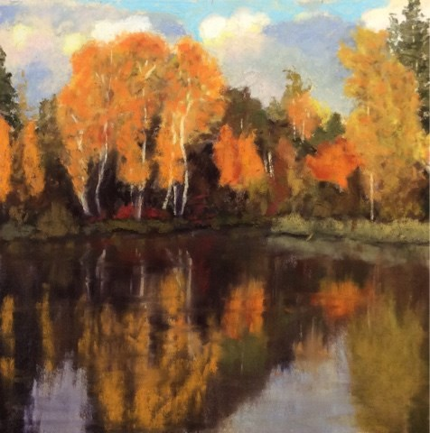 """ASPEN GLOW"" original fine art by Marti Walker"