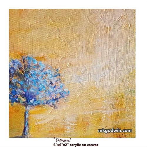 """Dawn"" original fine art by Marie K Godwin"