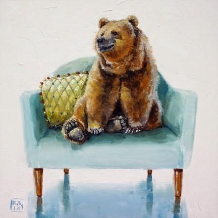 """barefoot"" original fine art by Kimberly Applegate"