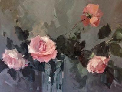 """Romance"" original fine art by Parastoo Ganjei"